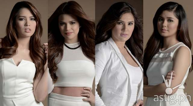 NKNKK_(l-r) Jane Oineza, Denise Laurel, Vina Morales, and Loisa Andalio