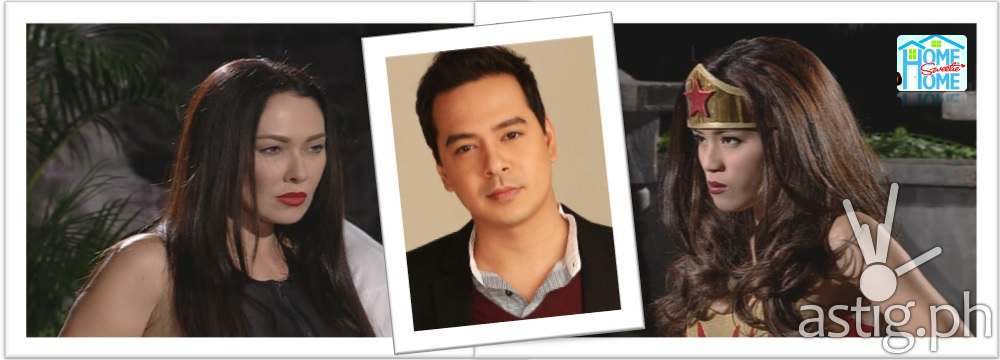 RUFFA-JOHN LLOYD-TONI LOVE TRIANGLE ON HOME SWEETIE HOME Darna
