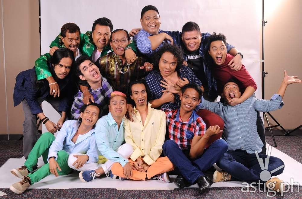 The ten komikeros of It's Showtime's FUNNY ONE comedy search