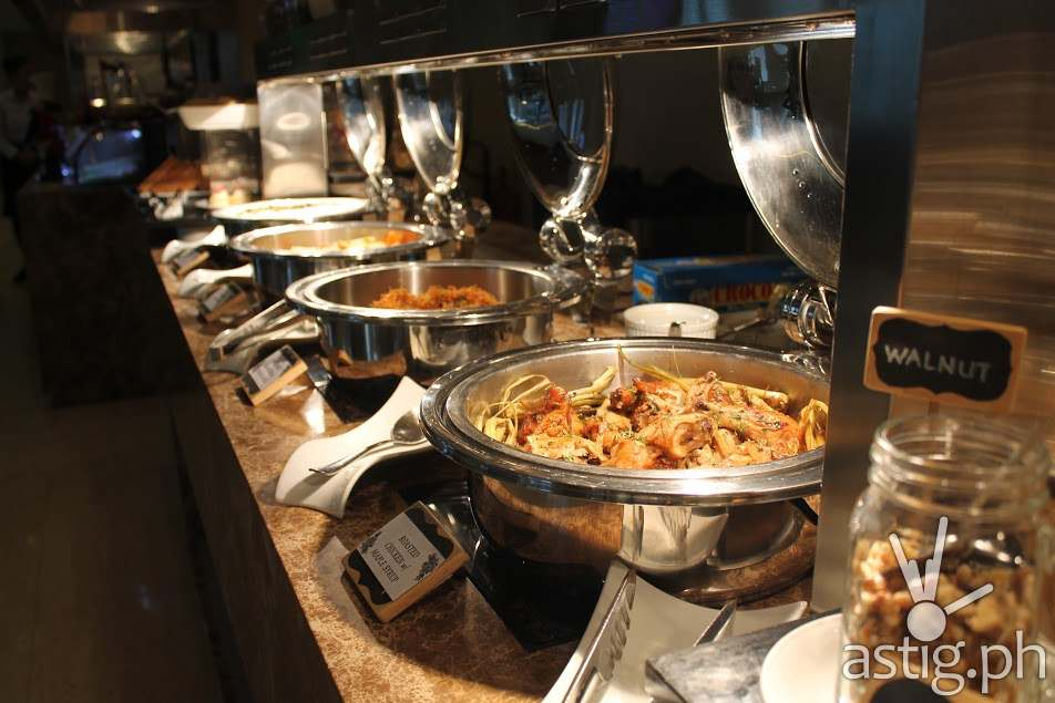 Warm Dishes Freshly Prepared at City Garden Grand Hotel Makati Spice Cafe