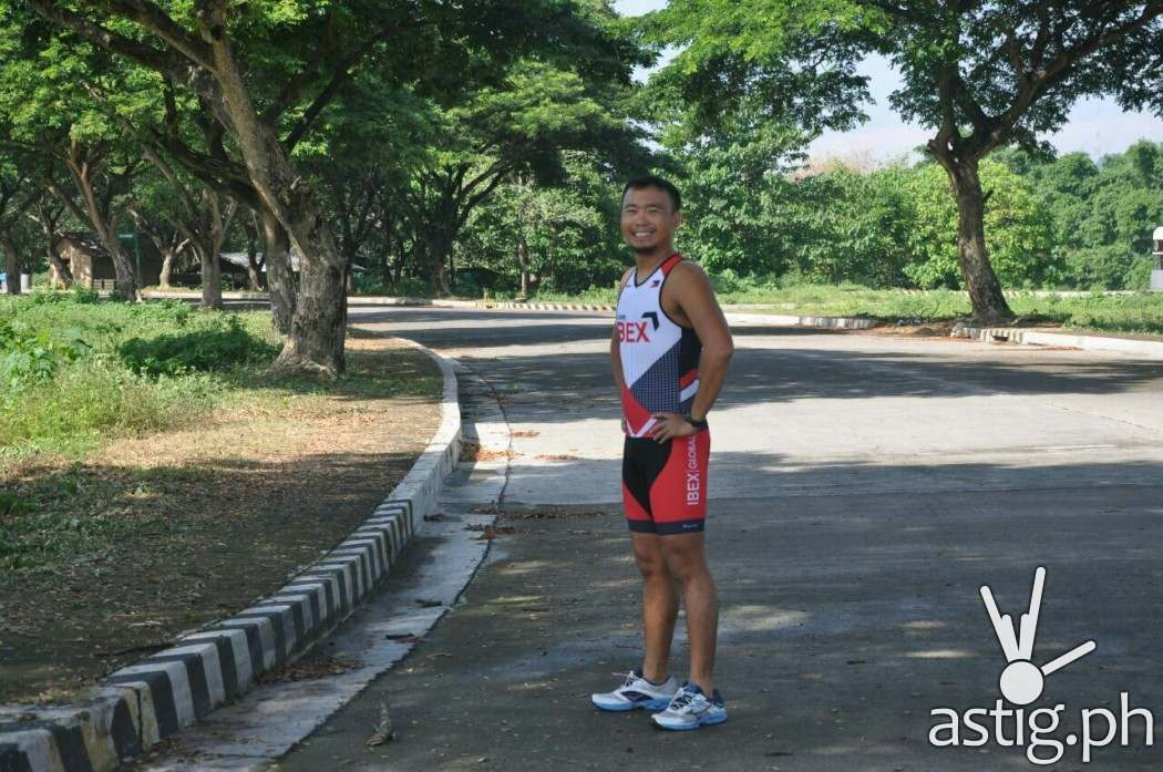 Raymond Lozano, a manager at IBEX Global, will be competing in the upcoming Cobra Ironman 70.3
