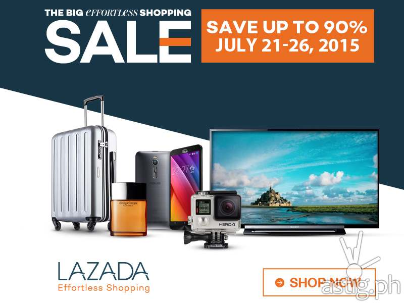 90% off smartphones & gadgets in Lazada's 6-day sale