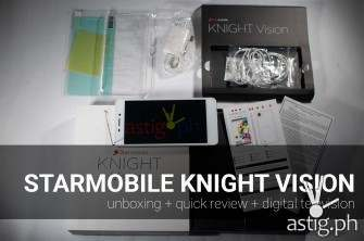 Starmobile Knight Vision unboxing review [video]