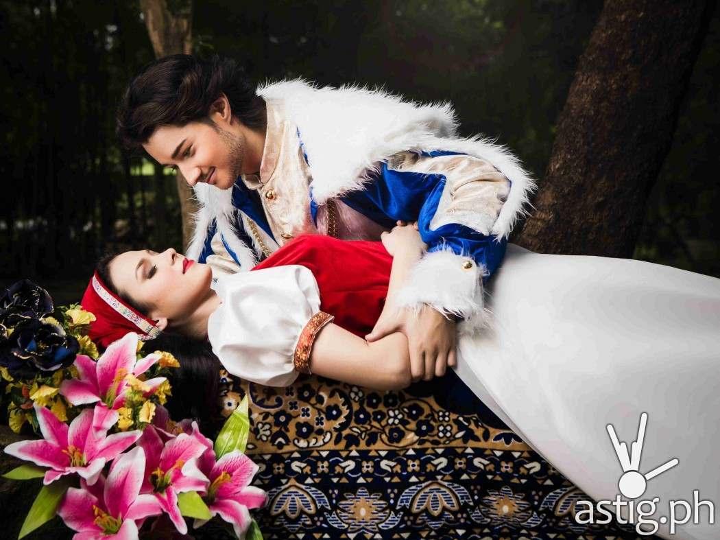 Alana Vicente (Snow White), Jos Jalbuena (Prince)