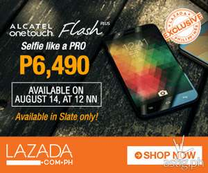 Lazada's Raining Deals + Alcatel Flash Plus SALE!