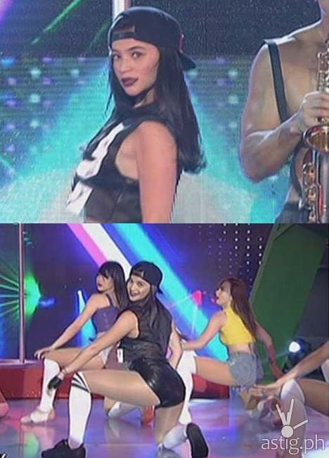 Anne Curtis twerks for the first time on TV on It's Showtime