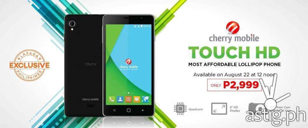 Cherry Mobile Touch HD on Sale 2015