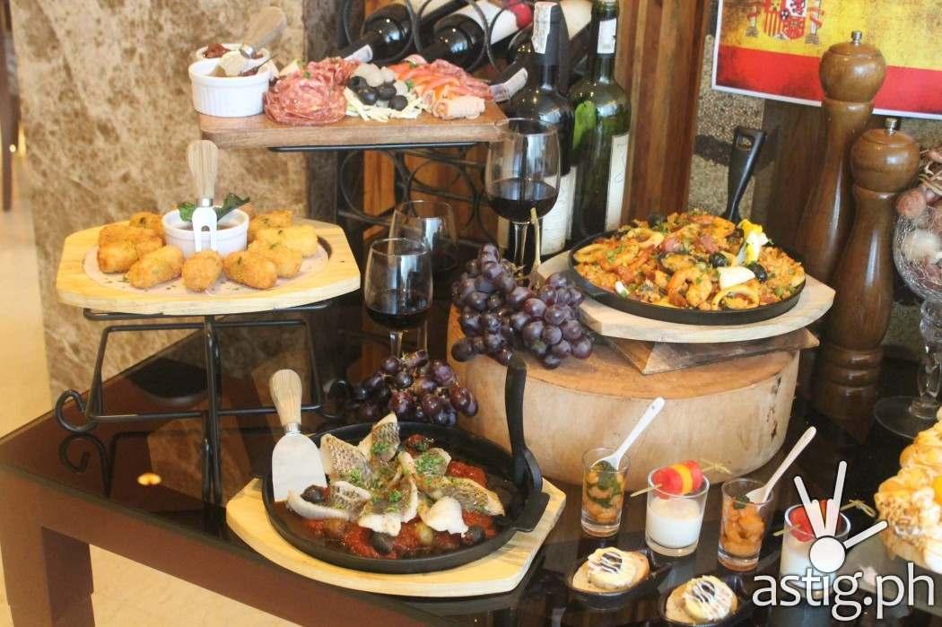 Cocido de España at City Garden Grand's Firefly View Bar
