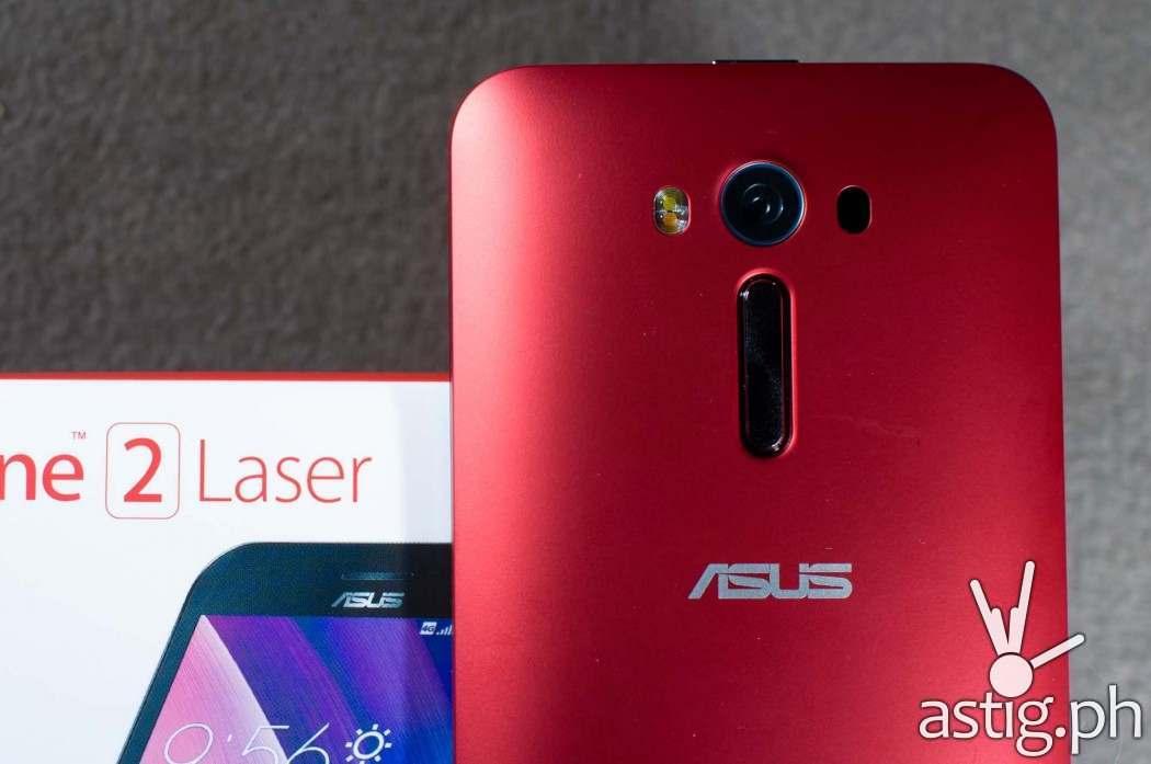 ASUS Zenfone 2 Laser Glamour Red (back)
