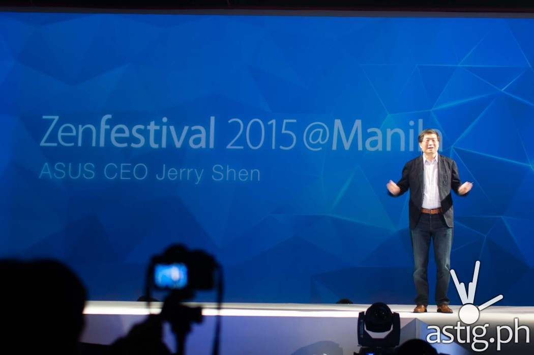 ASUS CEO Jerry Shen