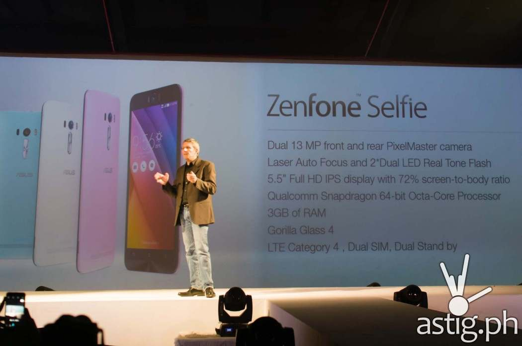 ASUS Product Designer Daniel Alenquer talks about the ASUS Zenfone Selfie at ZenFestival Manila