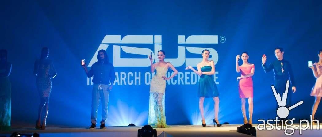 Ramp models show off the new lineup of ASUS ZenFone smartphones at ZenFestival Manila