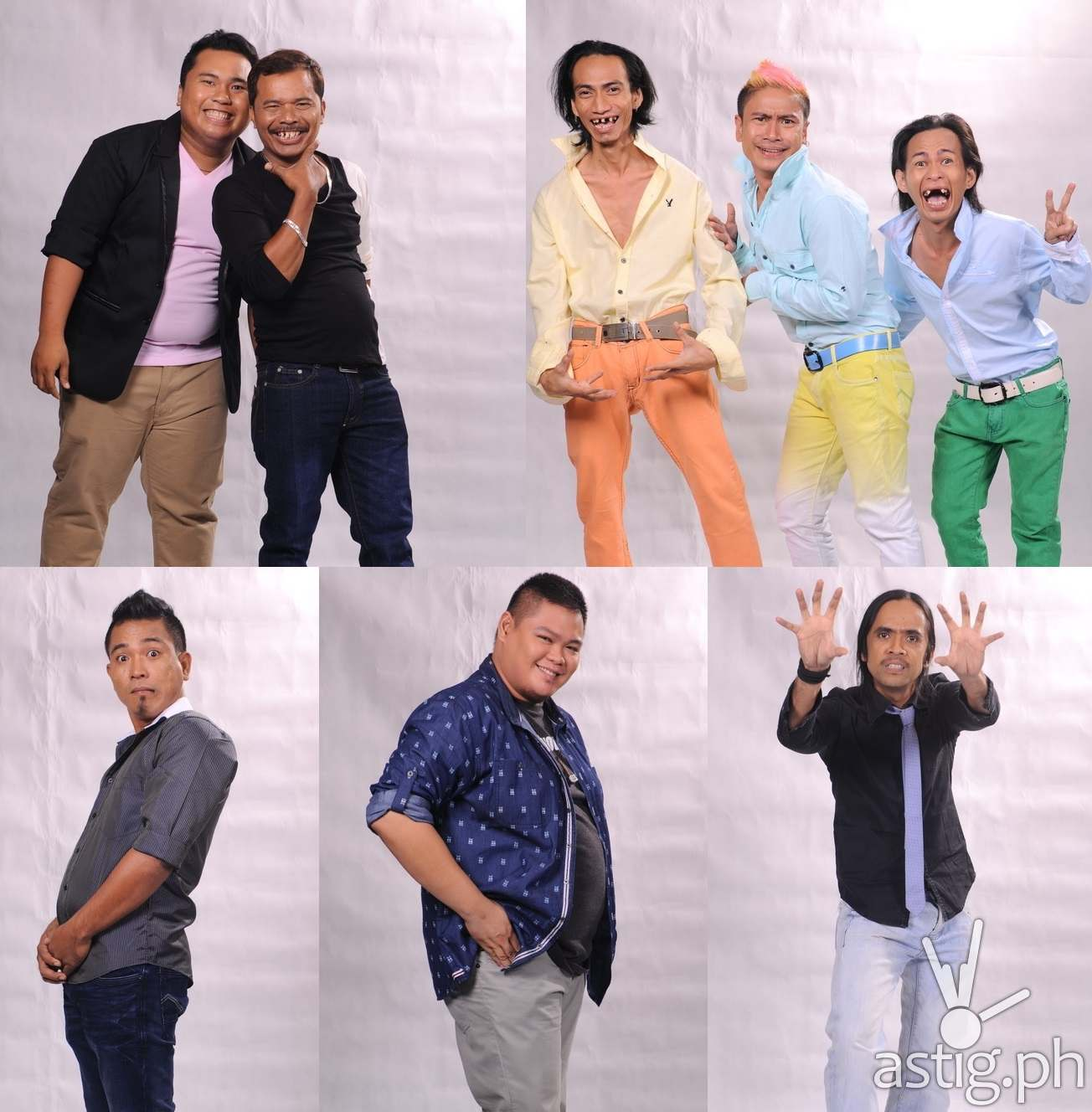 FUNNY ONE Final Five komikeros Crazy Duo, No Direction, Gibis Alejandrino, Nonong Ballinan, Ryan Rems Sarita