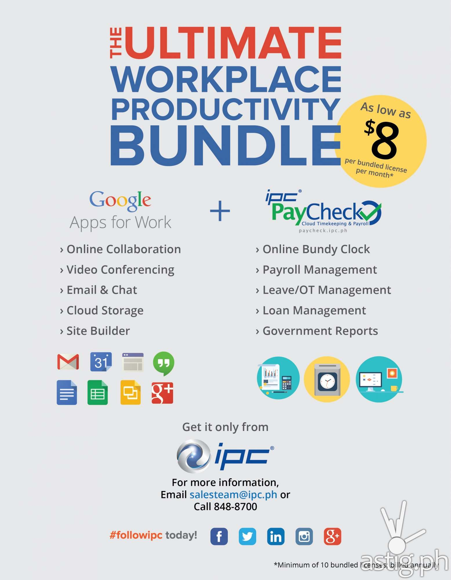 IPC Google Apps bundle