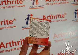 Arthrite: clinically proven to  provide sustained pain-relief from Osteoarthritis