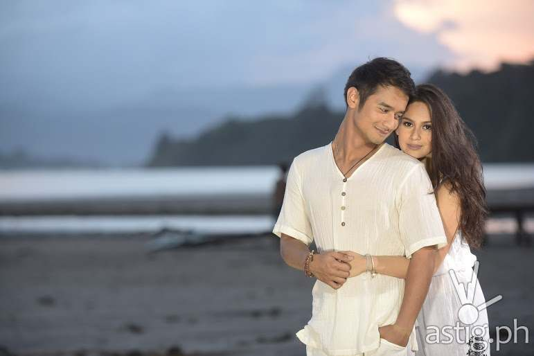 JM DE GUZMAN AND YEN SANTOS