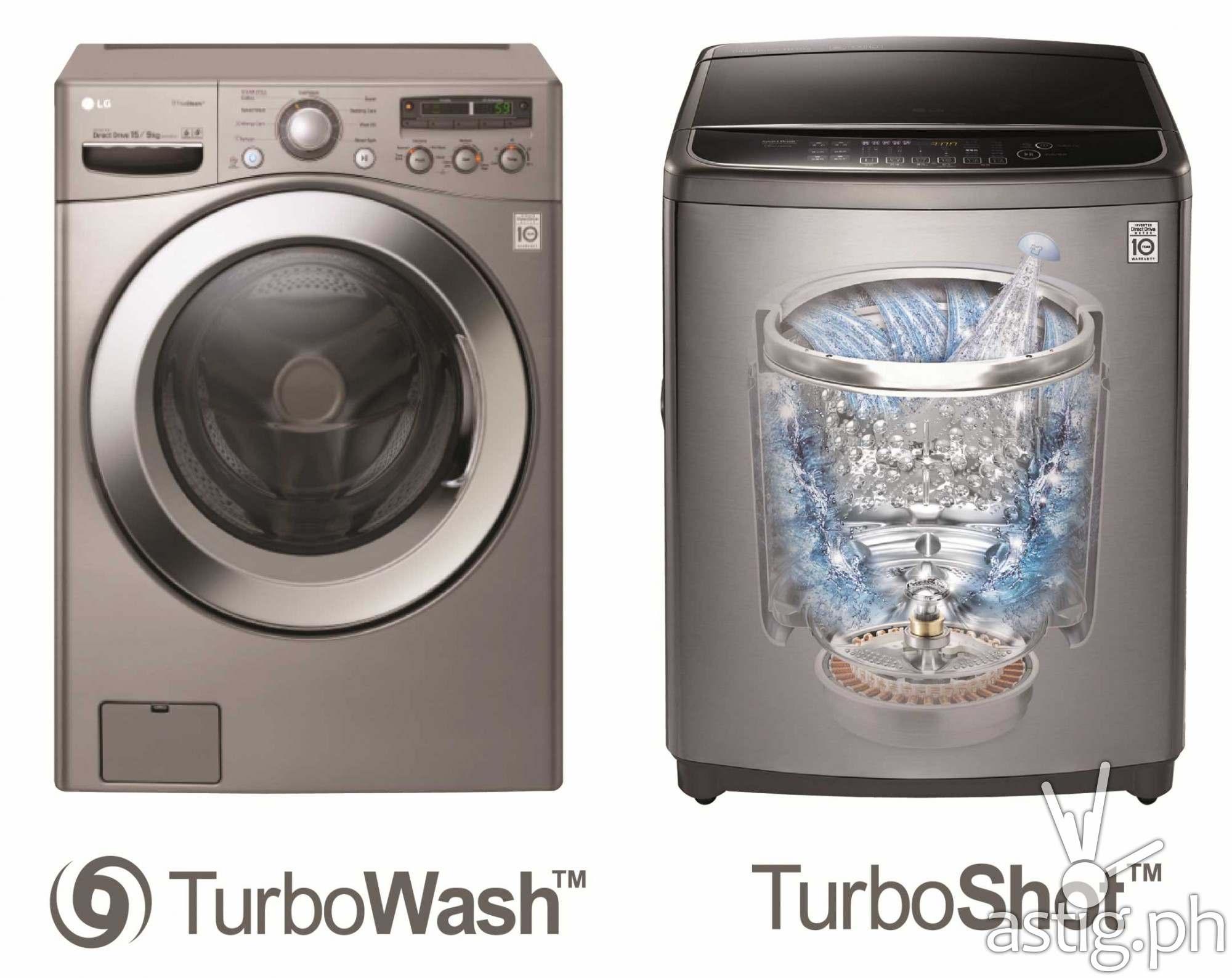 LG TurboWash TurboShot