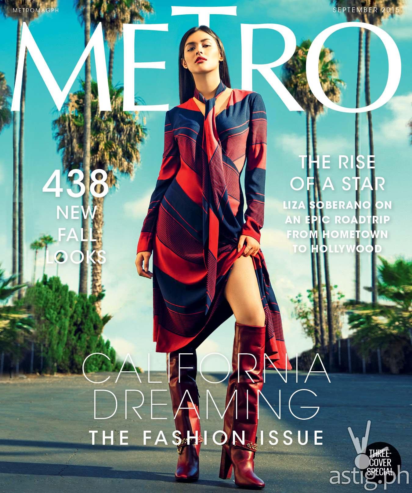 Liza soberano metro magazine cover