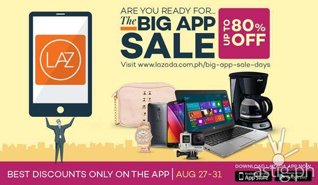 Lazada Big App Sale