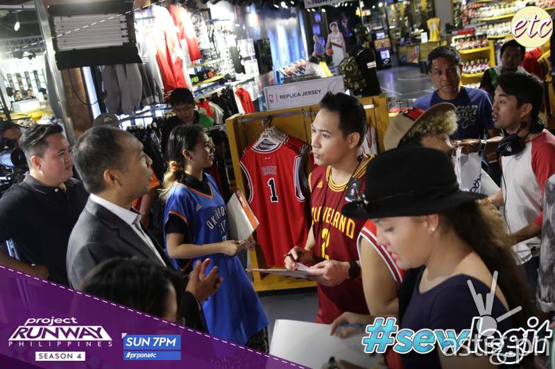 #SewLegit: NBA Fashion invades Project Runway Philippines