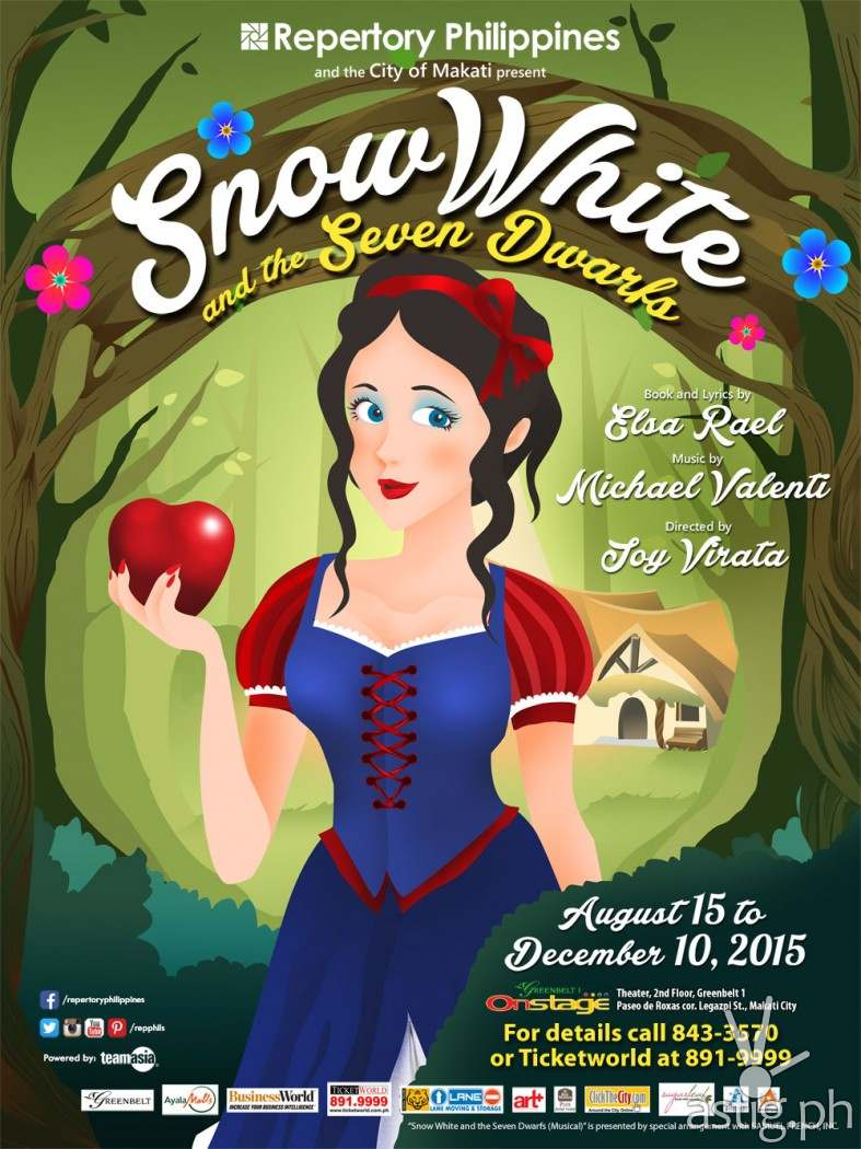 Snow White by Repertory Philippines Poster