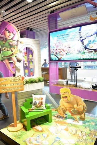 The Clash of Clans corner brings our imagination and fantasies to life