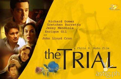 'The Trial' poster