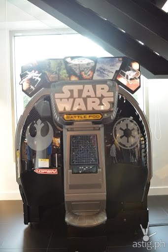 The new interactive and entertaining Star Wars Battle Pod is a classic crowd favorite