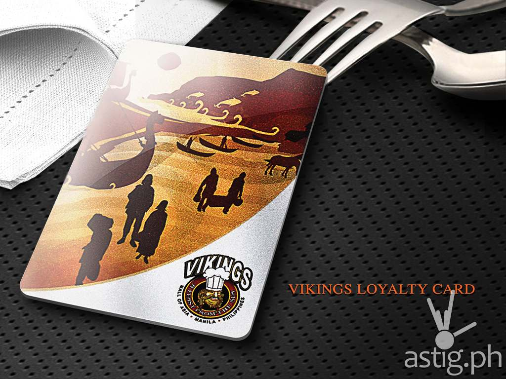 Vikings Loyalty Card