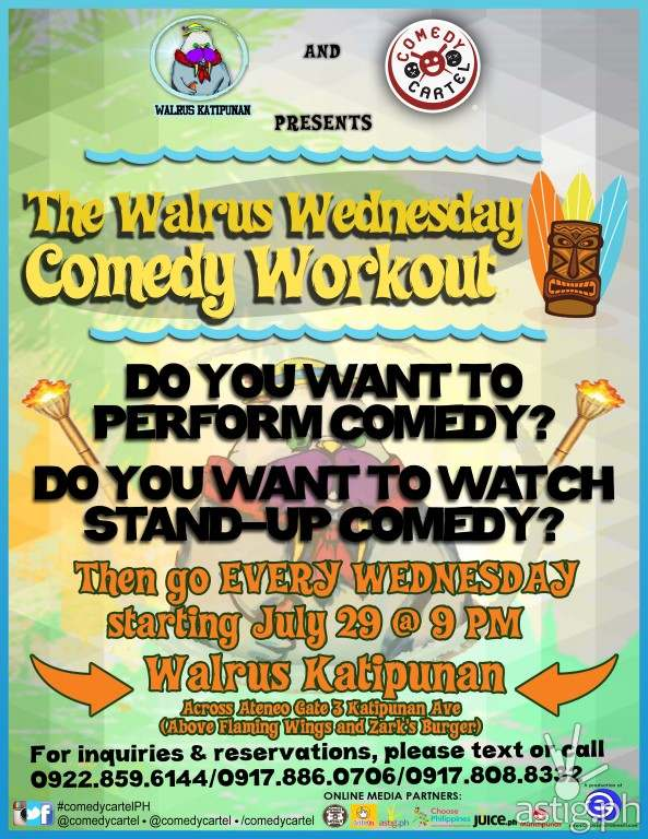 Comedy Cartel Walrus Wednesdays short (Medium)