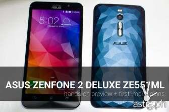 ASUS Zenfone 2 Deluxe ZE551ML hands-on preview [video]