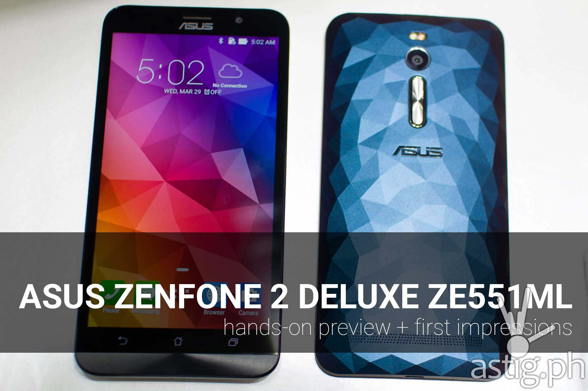 asus zenfone 2 deluxe preview first impressions video cover