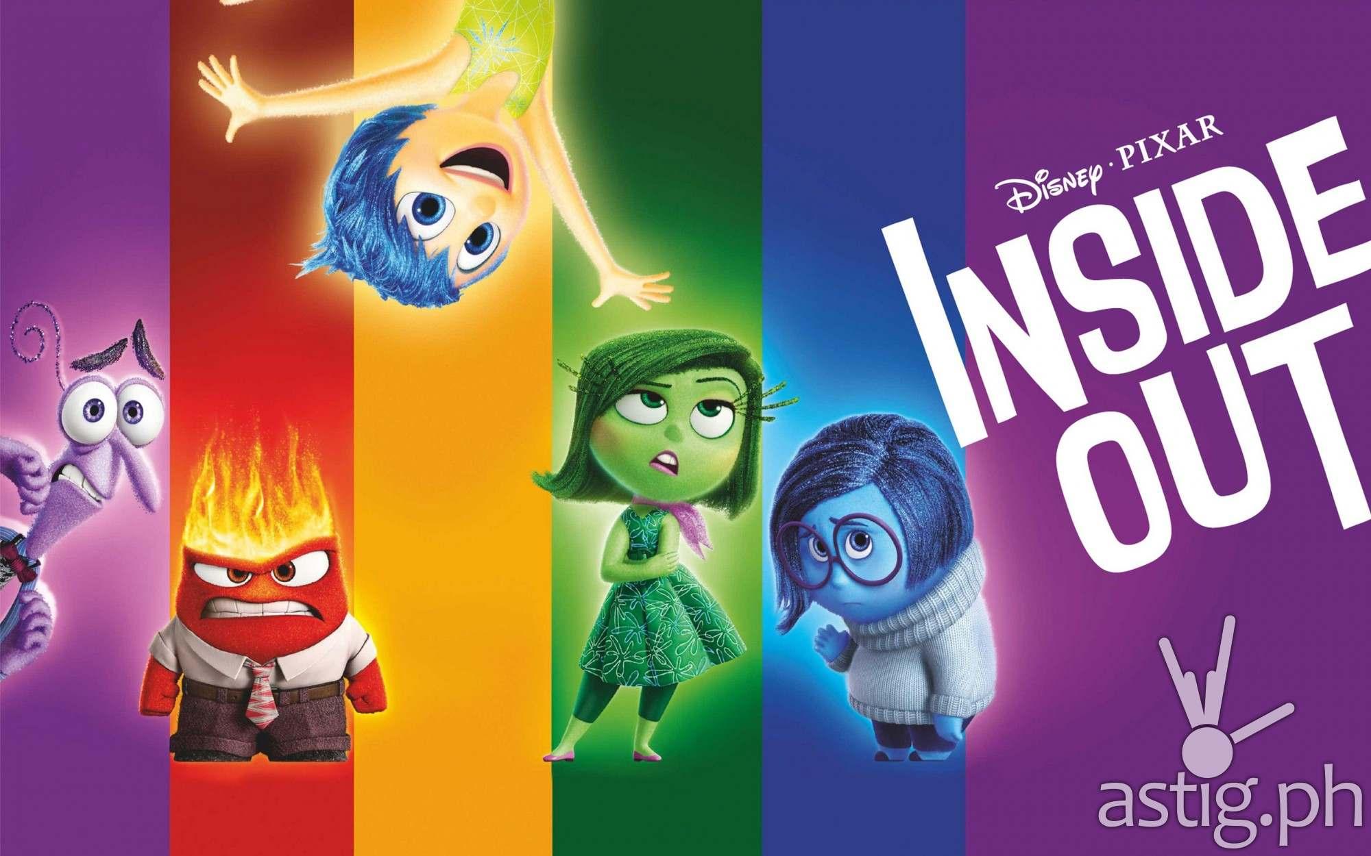 inside out disney pixar