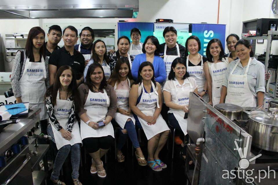 The Wanna Be Chef for the Samsung Cooking Workshop
