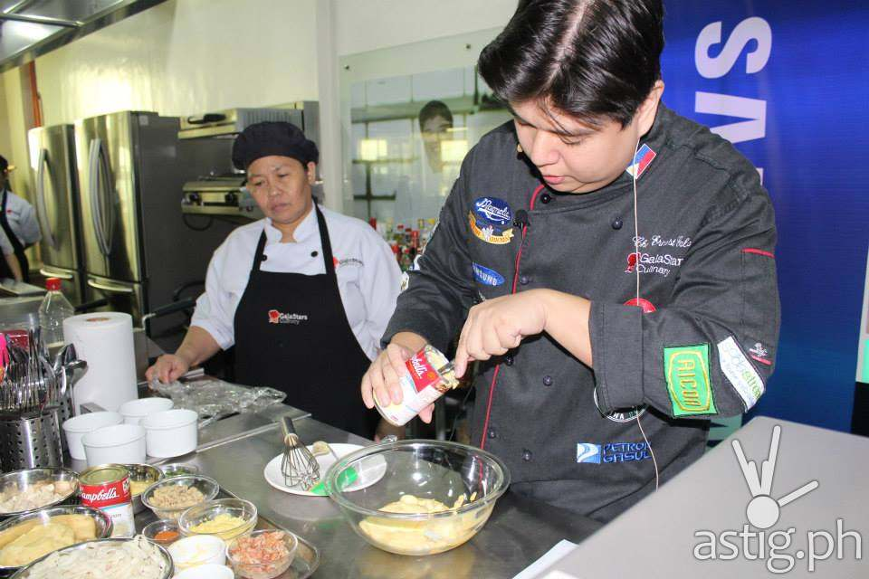 Chef Erners of Gala Culinary Center is our Mentor for that day
