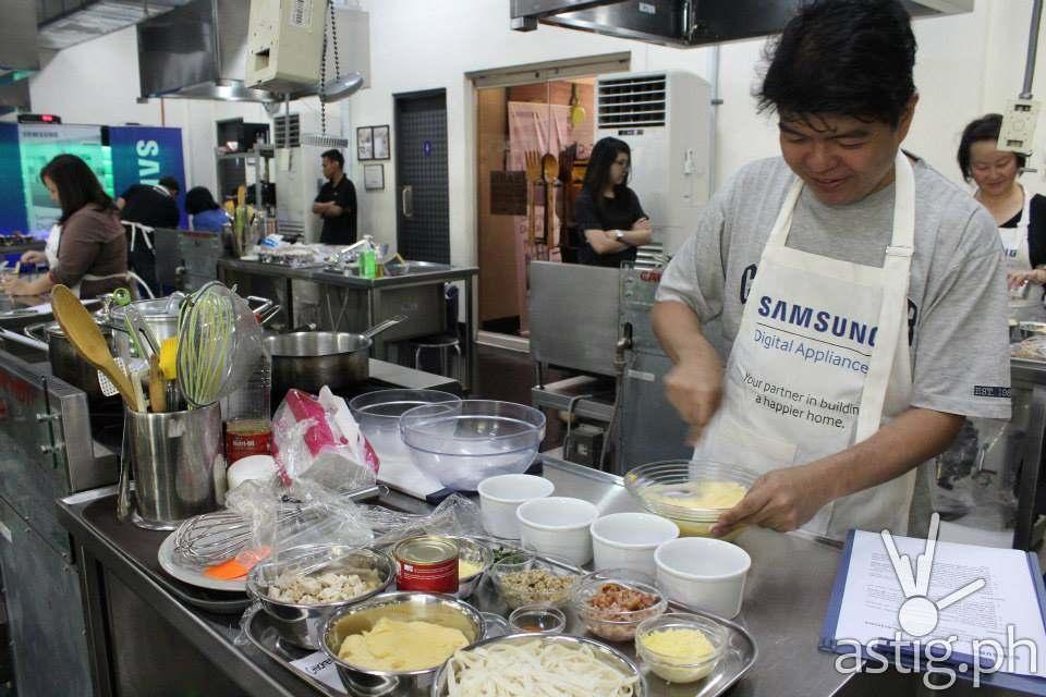 samsung cooking workshop 6