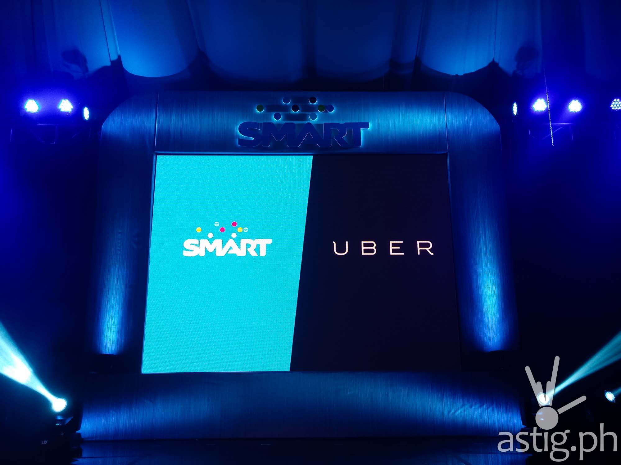 Smart Uber partnership