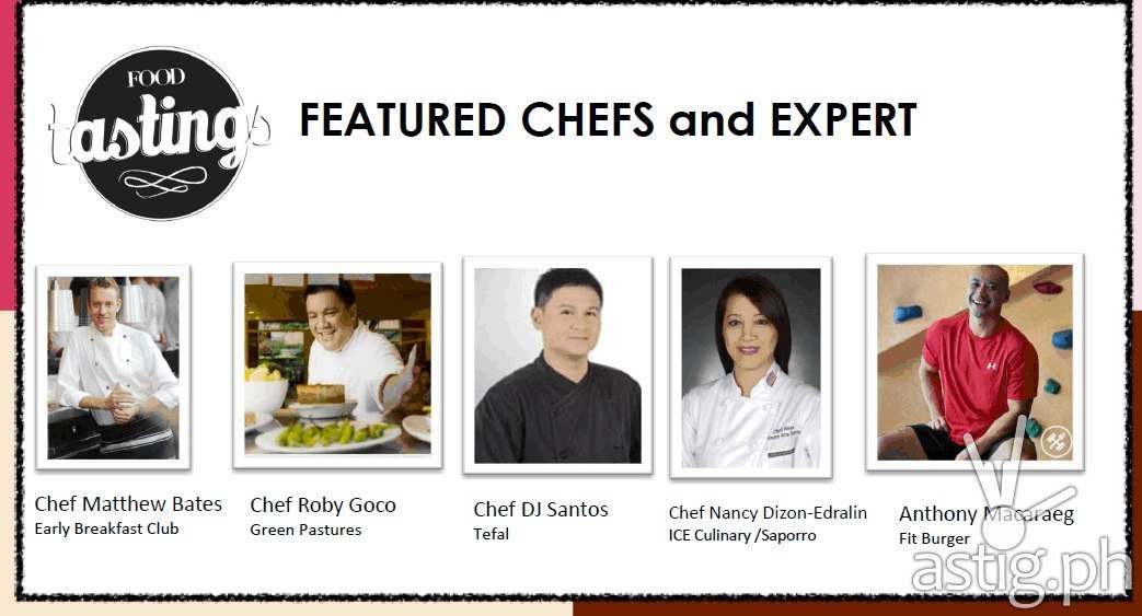 Food Tastings culinary experts