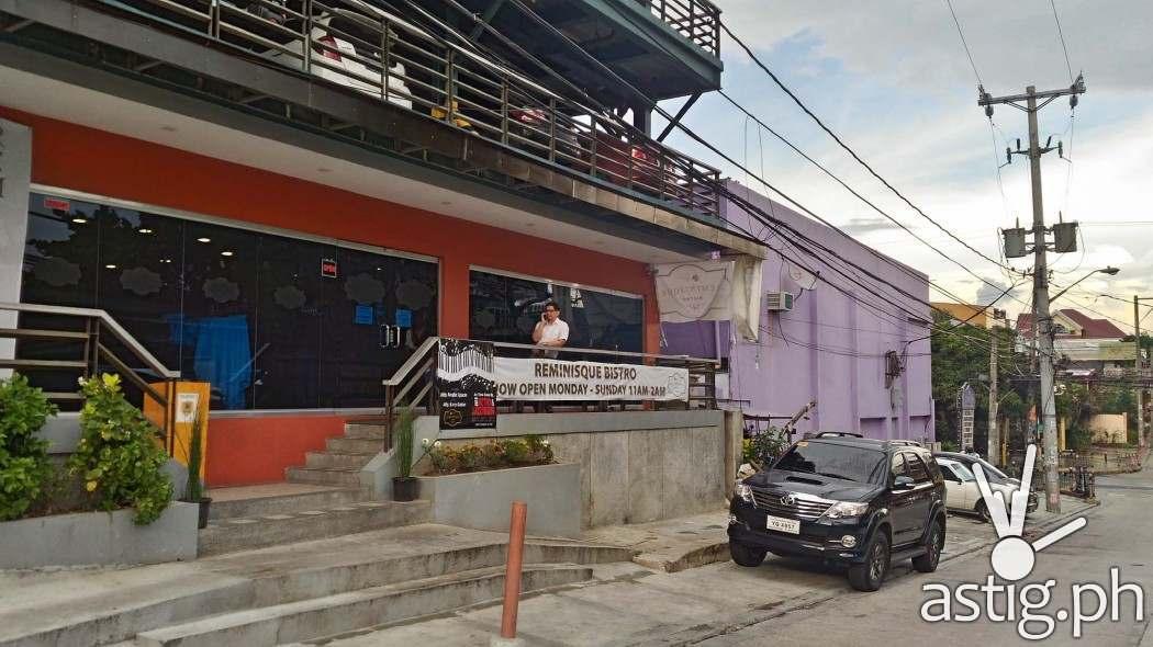 Reminisque Bistro is located at Scout Lozano corner Tomas Morato, Quezon City