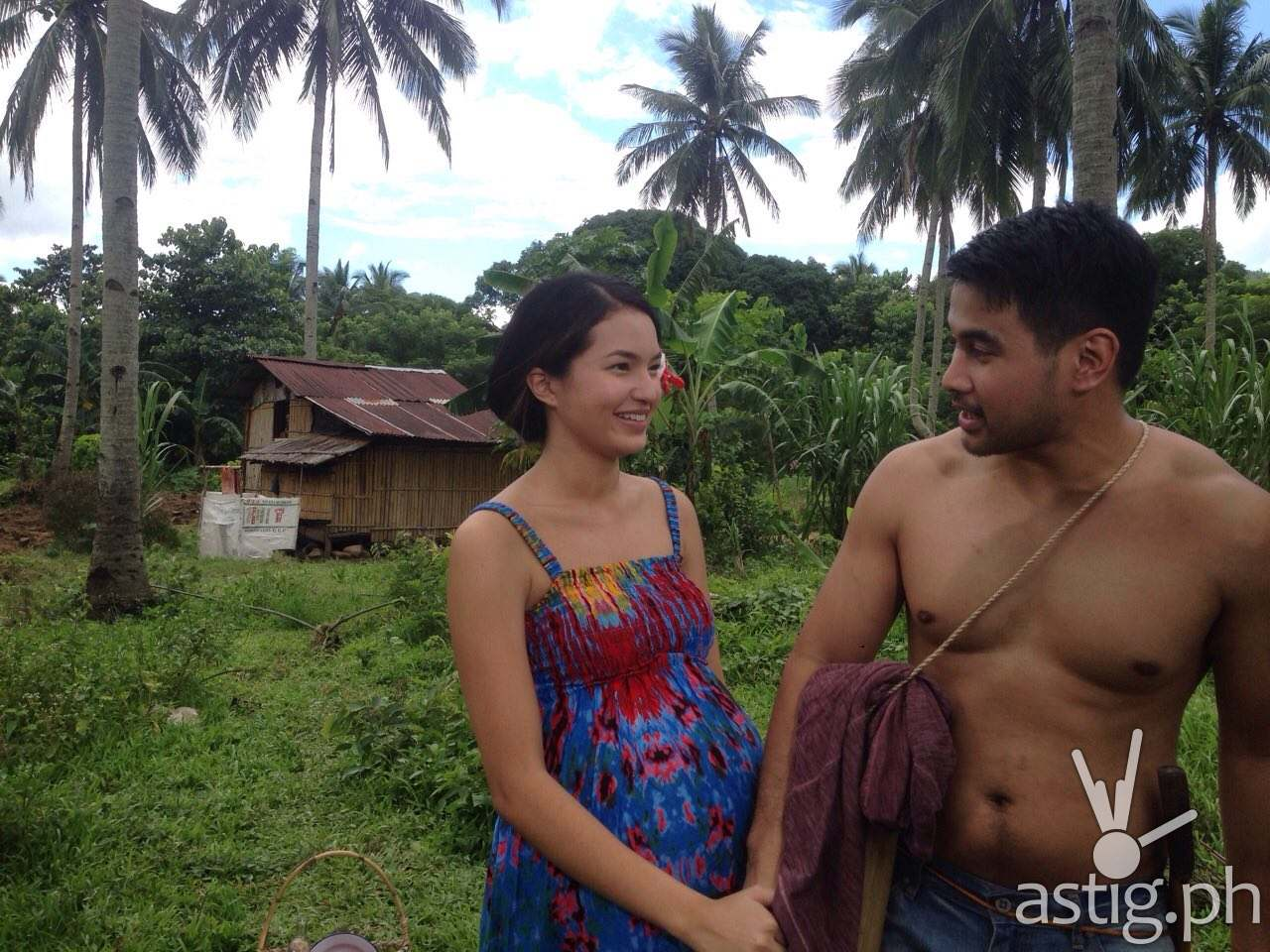 Sarah Lahbati and Joem Bascon in Ipaglaban Mo