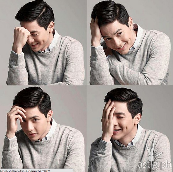 Alden Richards portrait picture in his instagram account