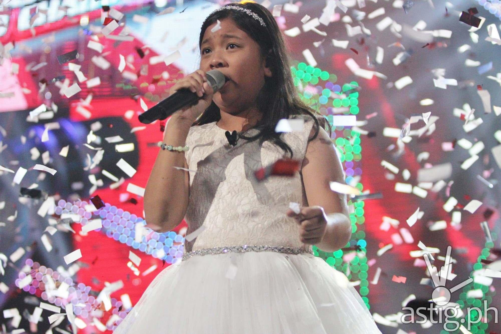 The Voice Kids Season 2 grand champion Elha Nympha performs her winning piece Ikaw Ang Lahat Sa Akin