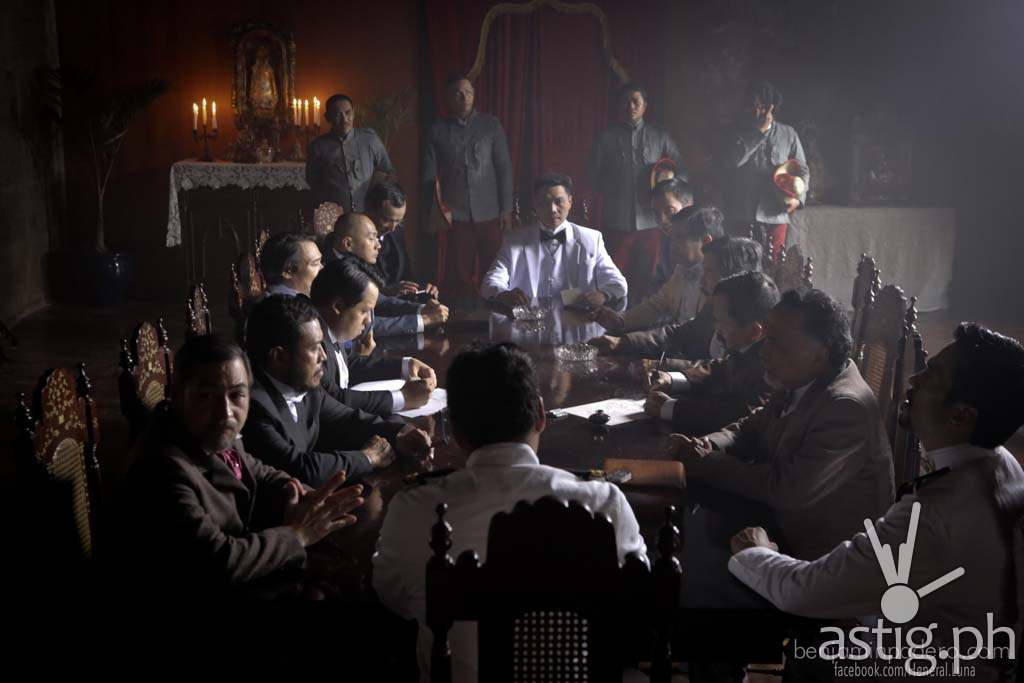 The cabinet meeting scene in Heneral Luna is really intense