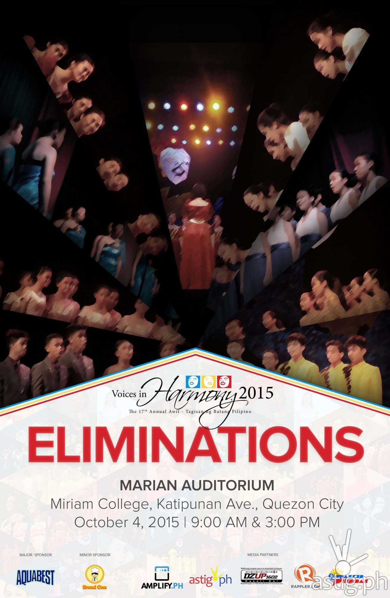 Voices in Harmony 2015 Elimination Round