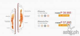 iPhone 6s, iPhone 6s Plus now available in the Philippines @ P39,995