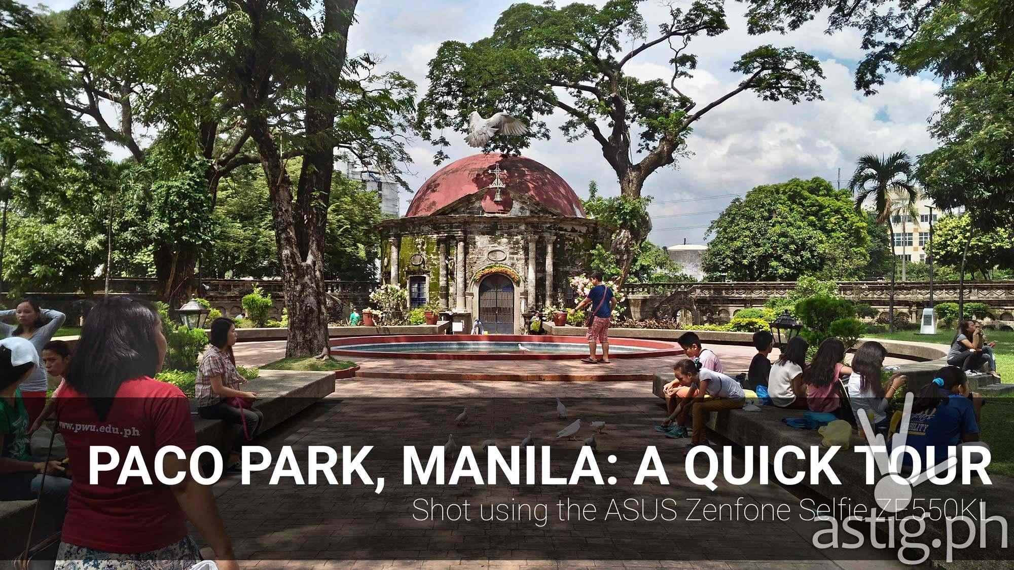 paco park manila tour video ASUS Zenfone Selfie
