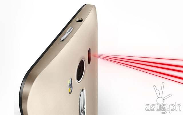 ASUS Zenfone 2 Laser autofocus