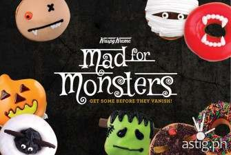 Scary or cute? Check out Krispy Kreme's Halloween dougnuts!