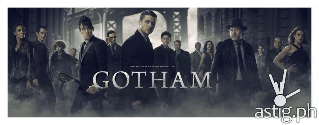 GOTHAM airs on Warner TV - catch it on Sky Cable!