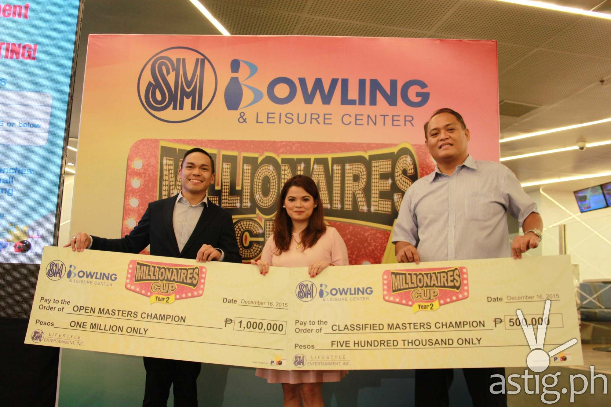 SM Bowling Millionaires Cup 2015